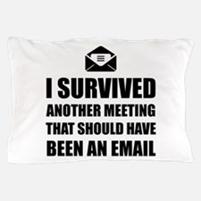 Meeting Email Pillow Case