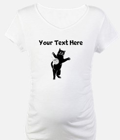 Cat And Yarn Silhouette Shirt