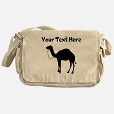 Camel Silhouette Messenger Bag