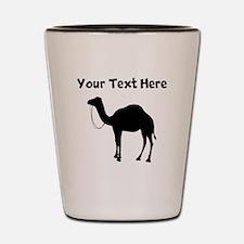 Camel Silhouette Shot Glass