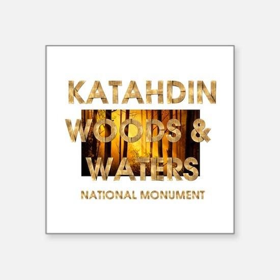 """ABH Katahdin Square Sticker 3"""" x 3"""""""
