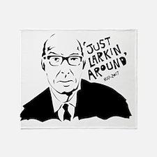 Just Larkin Around Throw Blanket