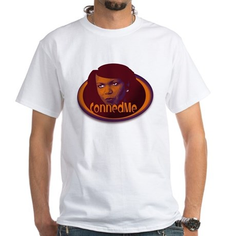 "White ""CONNEDME"" T-Shirt"