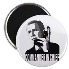 """""""COMMANDER IN CHIEF"""" Magnet"""