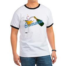 Groomsman Champagne Toast T T-Shirt