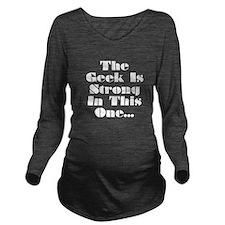 Unique War Long Sleeve Maternity T-Shirt