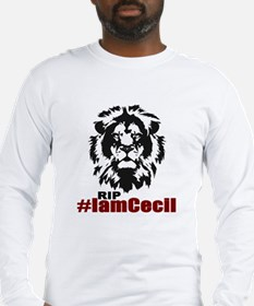 I am Cecil the Lion Long Sleeve T-Shirt