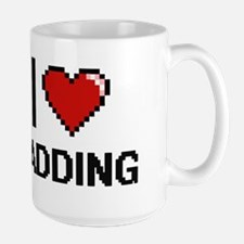 I Love Padding Mugs