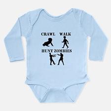 Crawl Walk Hunt Zombies Body Suit
