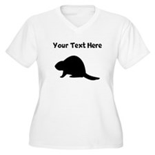 Beaver Silhouette Plus Size T-Shirt