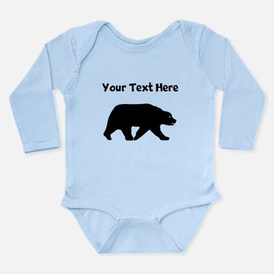 Bear Walking Silhouette Body Suit