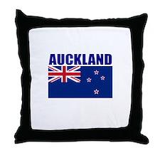 Auckland, Australia Throw Pillow