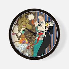 Barbier Tango Romance Wall Clock