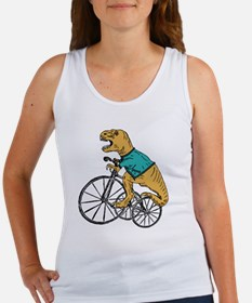 T-Rex Tri Wheel Women's Tank Top