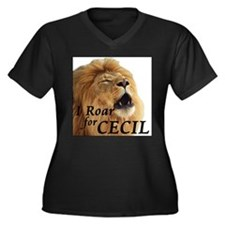 I Roar for Cecil Plus Size T-Shirt