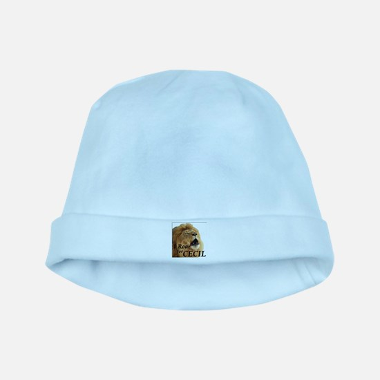 I Roar for Cecil baby hat