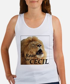 I Roar for Cecil Tank Top