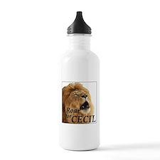 I Roar for Cecil Water Bottle