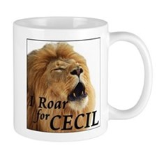 I Roar for Cecil Mugs