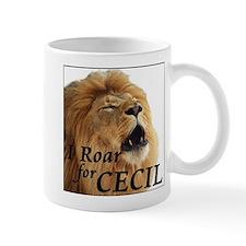 I Roar for Cecil Mugs