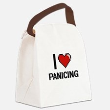 I Love Panicing Canvas Lunch Bag