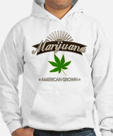 Smoking American Grown Marijuana Hoodie