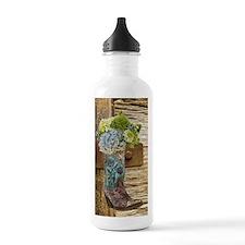 flower western country Water Bottle
