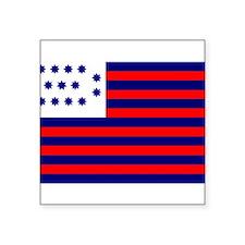"""Unique Revolutionary war Square Sticker 3"""" x 3"""""""