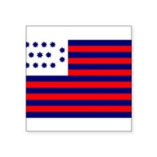 "Cool Revolutionary Square Sticker 3"" x 3"""