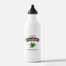 Smoking Oregon Grown M Water Bottle
