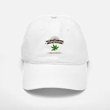Smoking Oregon Grown Marijuana Baseball Baseball Cap