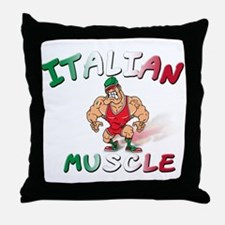 Italian Bad Boy Throw Pillow