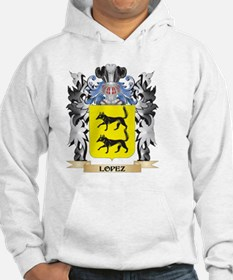 Lopez Coat of Arms - Family Cres Hoodie