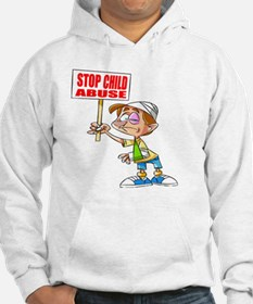 Stop Child Abuse Awareness Hoodie