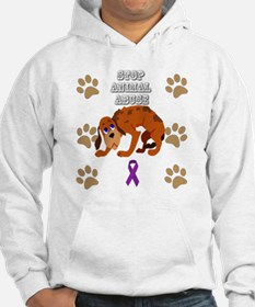 Cute Animal abuse prevention Hoodie