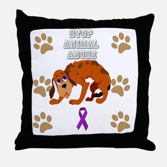Cute Prevention Throw Pillow