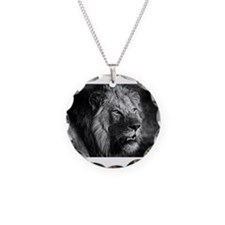 Cool White lion Necklace