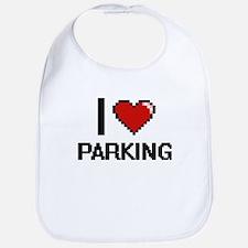 I Love Parking Bib