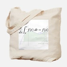 Derivative of an Integral (& graph) Tote Bag