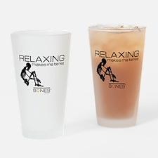 Bones Relaxing Drinking Glass