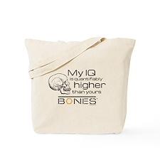 Bones IQ Tote Bag