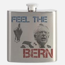 Feel The Bern Flask