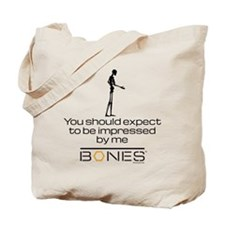 Bones Impressed Tote Bag