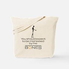 Bones Impressed Tote Bag