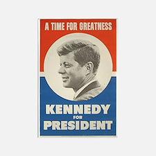 Cute Kennedy for president Rectangle Magnet
