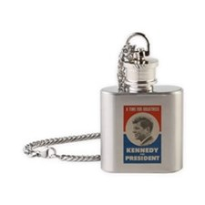 Unique Kennedy Flask Necklace