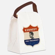 Funny John f kennedy Canvas Lunch Bag