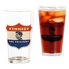 Funny Uss john f kennedy Drinking Glass