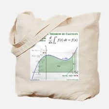 Fundamental Theorem of Calculus Tote Bag