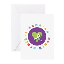 Cute Liver transplant Greeting Cards (Pk of 20)